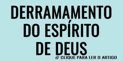 Derramamento do Espírito de Deus
