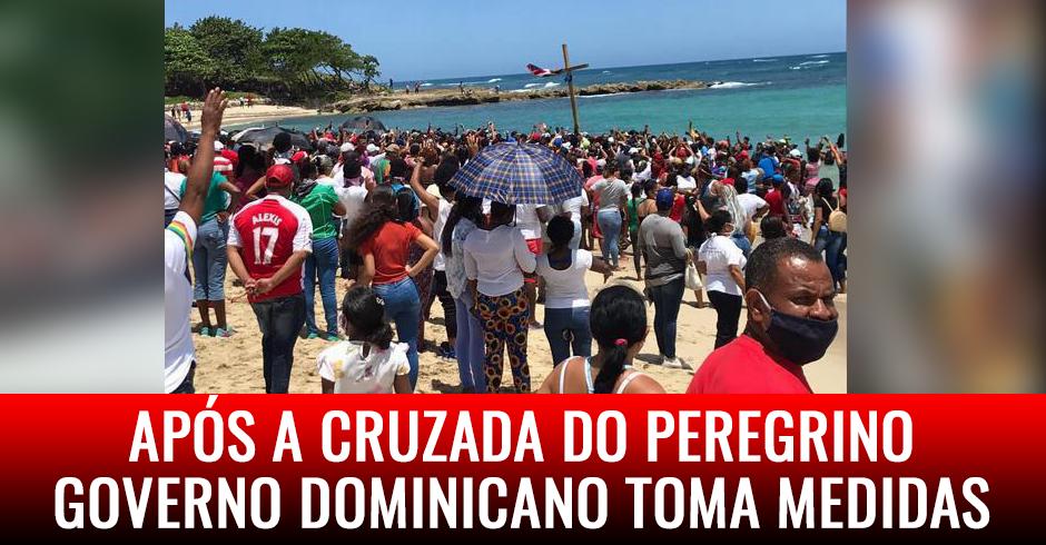 Após a Cruzada do Peregrino governo dominicano toma medidas