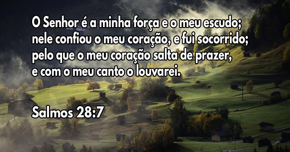 Eu louvarei meu Senhor, porque Ele continua sendo meu guia e meu refúgio