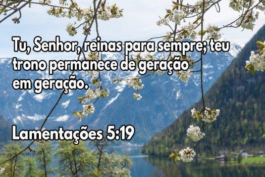 Tu, Senhor, reinas para sempre