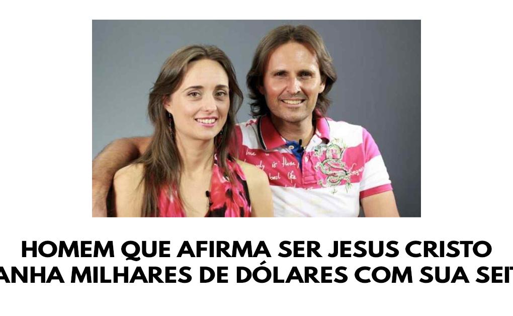 Homem que afirma ser Jesus Cristo ganha milhares de dólares com sua seita
